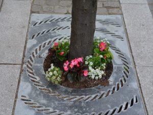 Tree base flowers 2